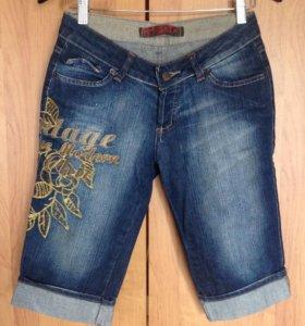 Бриджи джинсовые. Новые