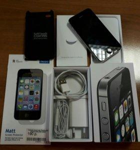 Iphone 4s/8gb/black