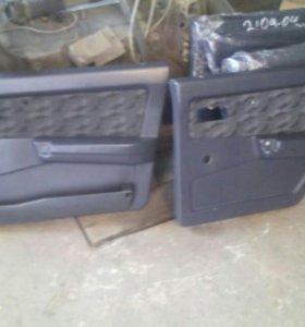 Обшивка двери ваз 2109-21099