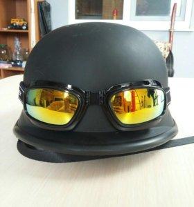 Шлем с очками Koestler