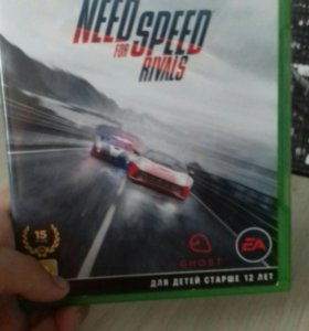 Диск NEED FOR SPEED RIVALS для Xbox one