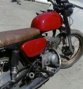 Мотоцикл Минск после реставрации