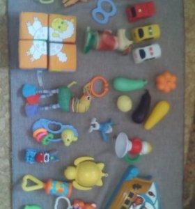 Игрушки до года