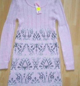 Платье-туника новое с этикеткой