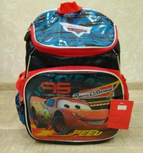 Рюкзак детский тачки