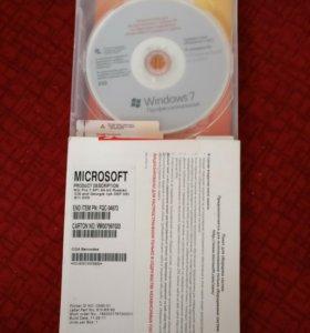 Windows 7 Prof x64 RUS DVD, SP1, OEM.