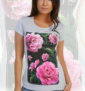 Продам новую футболку пр-во Иваново р-р 46.