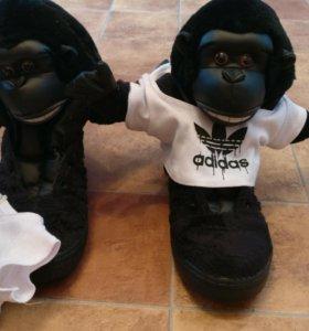 Adidas jeremy scott gorilla оригинал