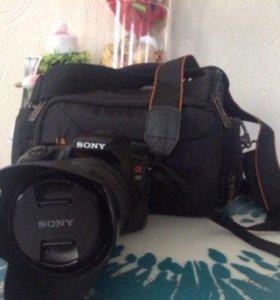 Зеркальный фотоаппарат Sony Alpha 65