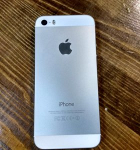 iPhone 5 s silver 16 Gb