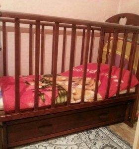 """Детская кровать """"маятник"""""""