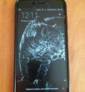 Комплект-Xiaomi redmi 4x 3/32 black + Mi band 2