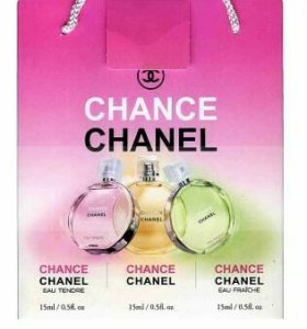 "Подарочный набор Chanel Mini 3*15ml """