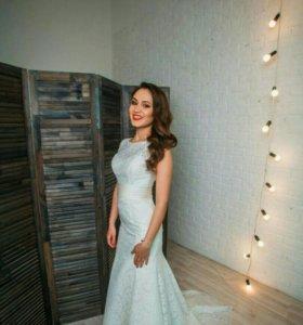 Свадебное платье 42-44 размера.