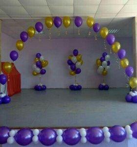 Гелиевые шары шарики на любой праздник