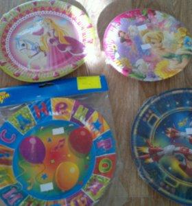 Посуда для детского праздника