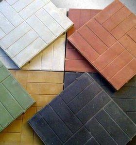 Плитка полимерпесчаная (цена указана за 1 кв.м.)