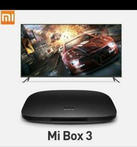 Медиаплеер Mi box 3(глобальная версия)