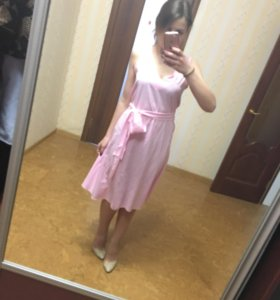 Лёгкое платье с юбкой соонце
