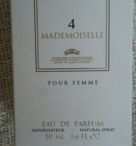 Духи Mademoiselle 4
