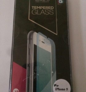 Защитное стекло на айфон 5,5s,5se