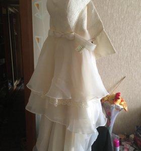 Платье (новое)! Выпускной, свадьба.