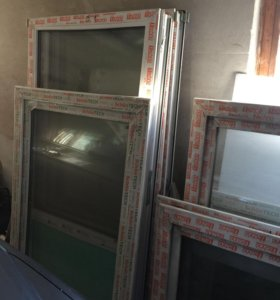 Металлопластиковые Окна двери новые