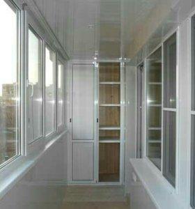 Отделка и утепление балконов и лоджий.