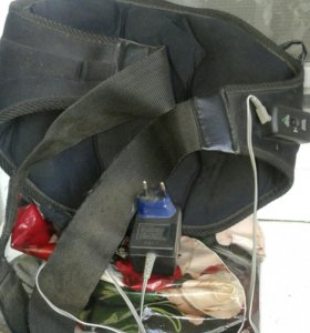 Поясь- вибратор для снятия жира на животе и на ног