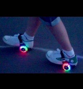 Мини-ролики на обувь