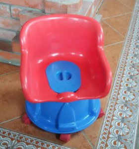 Детский горшок на колесах