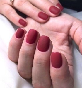 Наращивание ногтей, коррекция