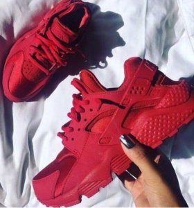 Кроссовки Nike Air Huarache All Red