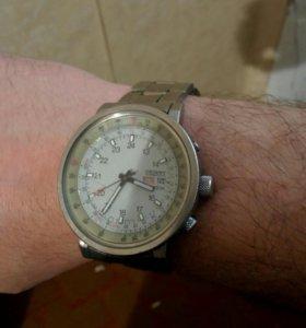 Часы orient из титана.