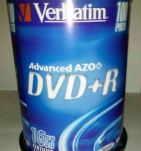 DVD диски Verbatim DVD+R поштучно
