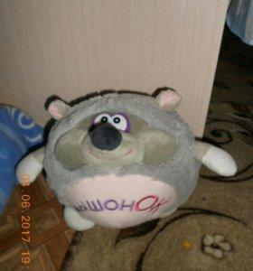 Мягкая игрушка мышь.