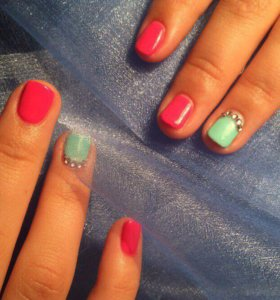 Маникюр+покрытие ногтей гель-лаком🔥