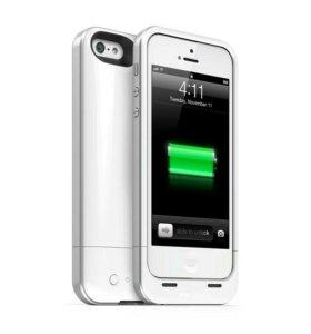 iPhone 5 5S защитный чехол аккумулятор 2500 MAH