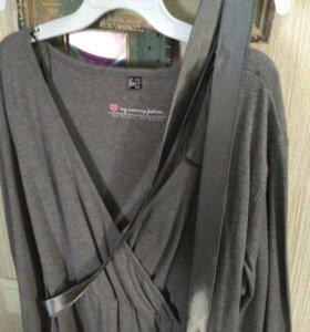 Платье для беременных и кормления грудью