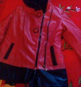 Куртка на меху р 54