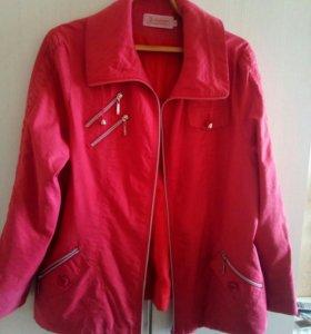 Куртка ветровка 54-56