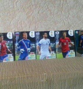 Карточки футболистов