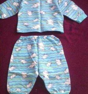 Пижама детская тепленькая