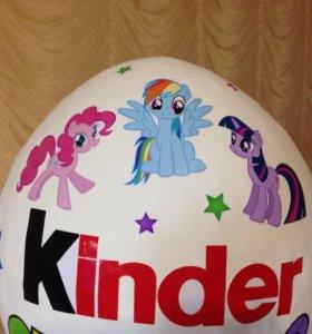 Little Pony подарочная упаковка в виде киндера