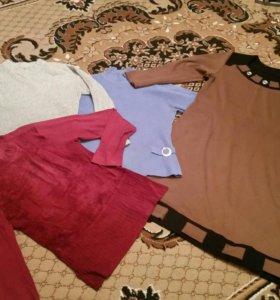 Платья кофты