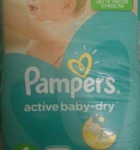 Подгузники Pampers Active baby 4-76шт