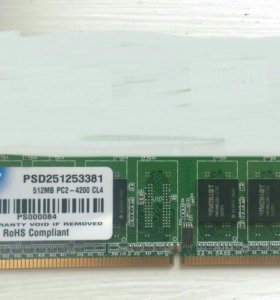 DDR2 512 Mb (533)