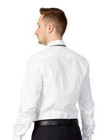 Сорочки мужские новые белые, длинный рукав.