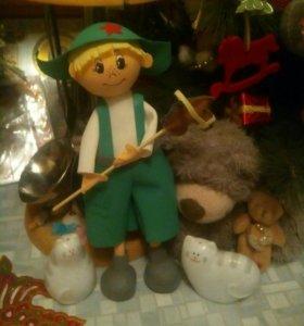 Кукла интерьерная  Егорка.