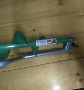 Ледобур для зимней рыбалки MORA 130 мм